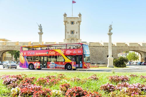 Hop-on/Hop-off-Bustour Cádiz
