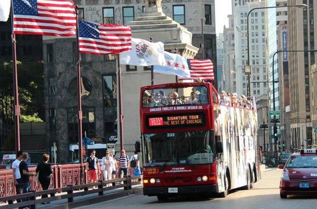 Hop-on/Hop-off-Bustour Chicago