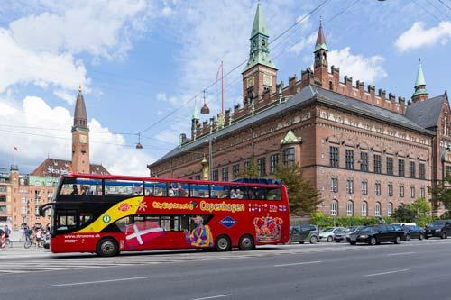 Hop-on / Hop-off-Bustour Kopenhagen