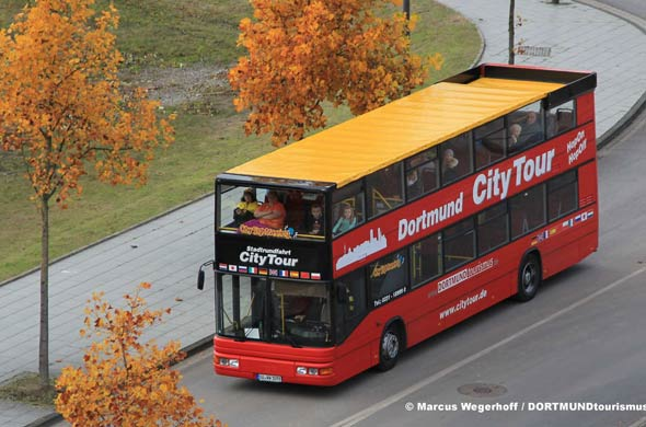 Hop-On/Hop-Off-Bustour Dortmund