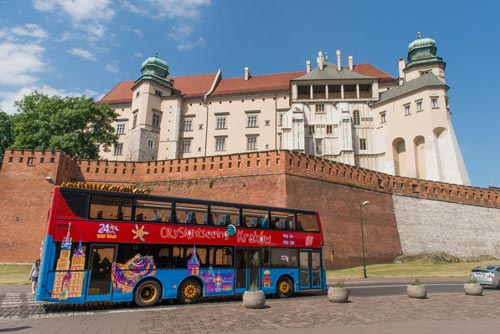 Hop-on/Hop-off-Bustour Krakau
