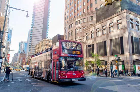 Bus Touristique New York - Pass une journée