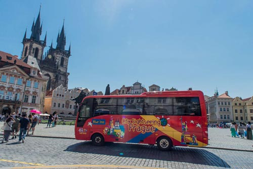Hop-On Hop-Off Prague