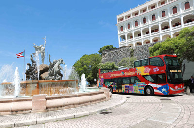 Hop-on/Hop-off-Bustour San Juan
