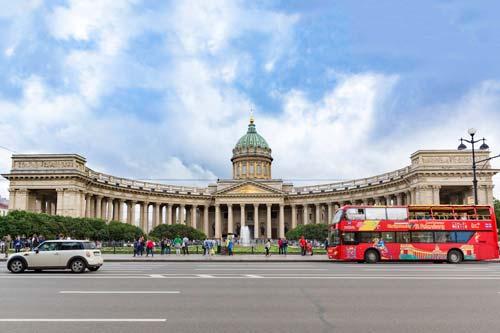 Hop-on/Hop-off-Bustour St. Petersburg