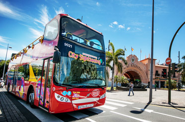 Hop-on/Hop-off-Bustour Santa Cruz de Tenerife