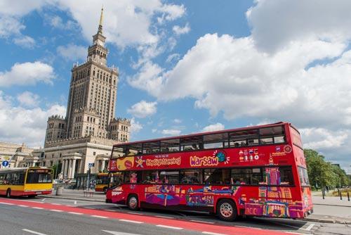 Hop-On Hop-Off Warsaw